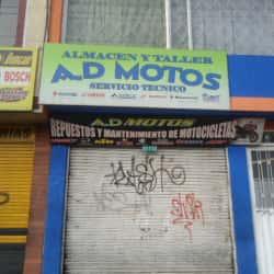 Almacén y Taller AD Motos en Bogotá