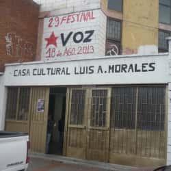 Casa Cultural Luis A. Morales en Bogotá