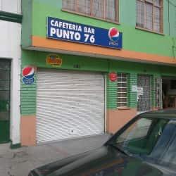 Cafetería Bar Punto 76 en Bogotá