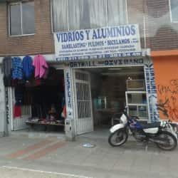 Vidrios y Aluminios Carrera 10 con 28 en Bogotá