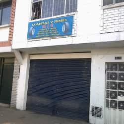 Llantas y Rines M J C  en Bogotá