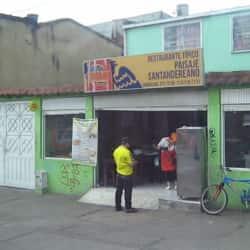 Restaurante Típico Paisaje Santandereano en Bogotá