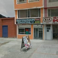 Impresión Digital Avenida Boyaca con 38F en Bogotá