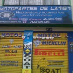 Motopartes De La 161 en Bogotá