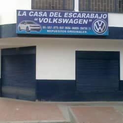 """La Casa del Escarabajo """"Volkswagen"""" en Bogotá"""