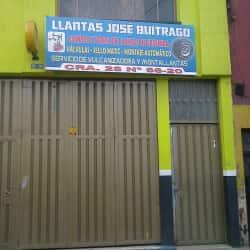 Llantas José Buitrago en Bogotá
