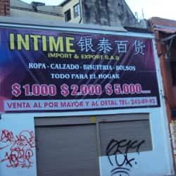 Intime Importadora & Exportadora en Bogotá