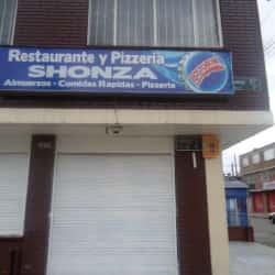 Restaurante y Pizzería Shonza en Bogotá