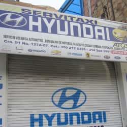 Servitaxi Hyunday en Bogotá