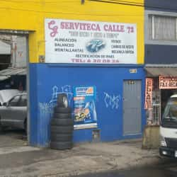Serviteca de la 72 en Bogotá