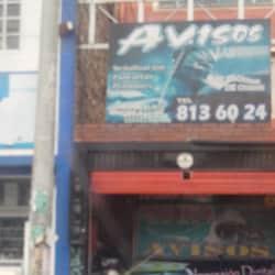 Avisos Avenida 1 de Mayo con 53A en Bogotá