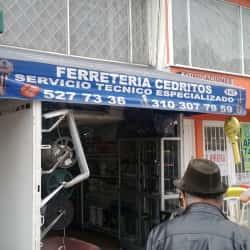Ferretería Cedritos en Bogotá