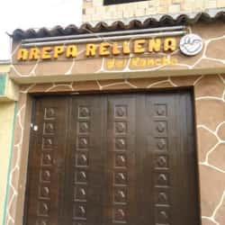 Arepa Rellena del Rancho en Bogotá