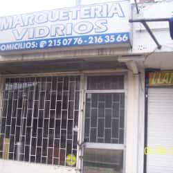 Marquetería Vidrios en Bogotá