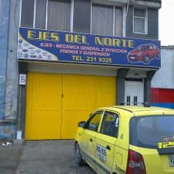 Ejes del Norte en Bogotá
