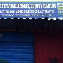 Electroalarmas, Lujos y Radios en Bogotá