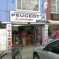 Importadora Peugeot en Bogotá