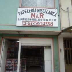 Papelería Miscelánea M&R en Bogotá