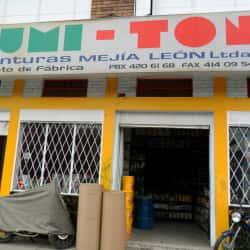 Lumiton Pinturas Mejía León en Bogotá