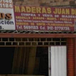 Maderas Juan Diaz en Bogotá