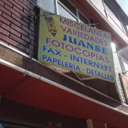 Miscelanea Variedades Juanse en Bogotá