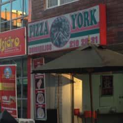 Pizza York en Bogotá