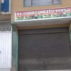 El Bodegoncito Paisa en Bogotá