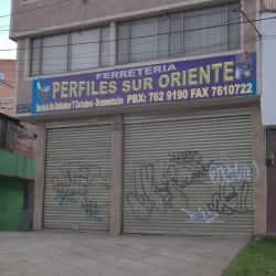 Ferreteria Perfiles Sur Oriente en Bogotá