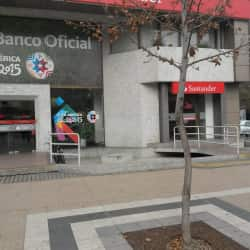 Banco Santander en Santiago