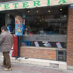 Cafeteria Holanda en Santiago