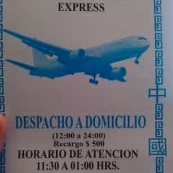 Restaurant Nuevos Sabores Express en Santiago