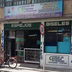 Central de Vidrios & Divisiones en Bogotá