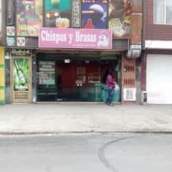 Chispas y brasas la delicia del pollo en Bogotá