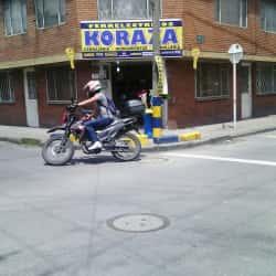 Ferrelectricos Koraza en Bogotá