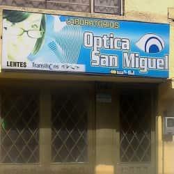 Laboratorio Óptica San Miguel en Bogotá