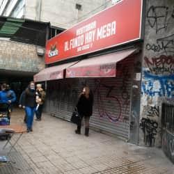 Restobar Al fonfo Hay Mesa en Santiago
