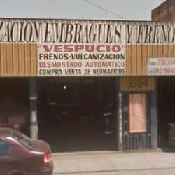 Vulcanización Embragues y Frenos Vespucio en Santiago