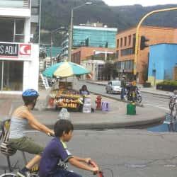 Puesto de Venta Ambulante Calle 93 con 15 en Bogotá