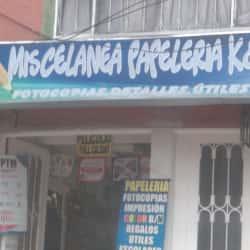 Miscelanea Papeleria K&L en Bogotá