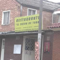 Restaurante el Sazon de Toña en Bogotá