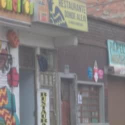 Restaurante Donde Alejo en Bogotá