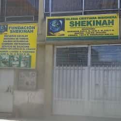 Iglesia cristiana misionera Shekinah en Bogotá