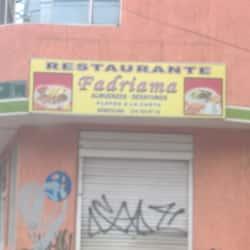 Restaurante Fadriama en Bogotá