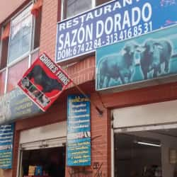 Restaurante Sazón Dorado en Bogotá