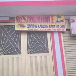 Restaurante Don Andres en Bogotá