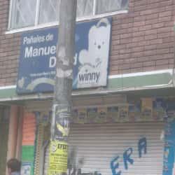 Pañales de Manuel David en Bogotá