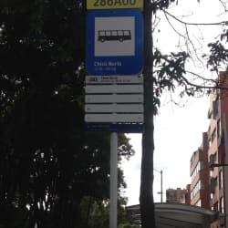Paradero SITP Barrio Chicó Borte - 286A00 en Bogotá