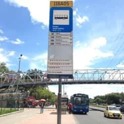 Paradero SITP Parque Simón Bolívar - 118A05 en Bogotá