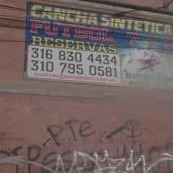 Canchas Sinteticas Futbol 7 y 5 en Bogotá