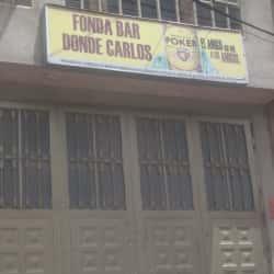 Fonda Bar Donde Carlos en Bogotá